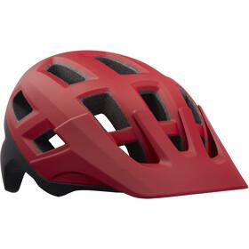 Lazer Coyote Kask rowerowy, czerwony/czarny
